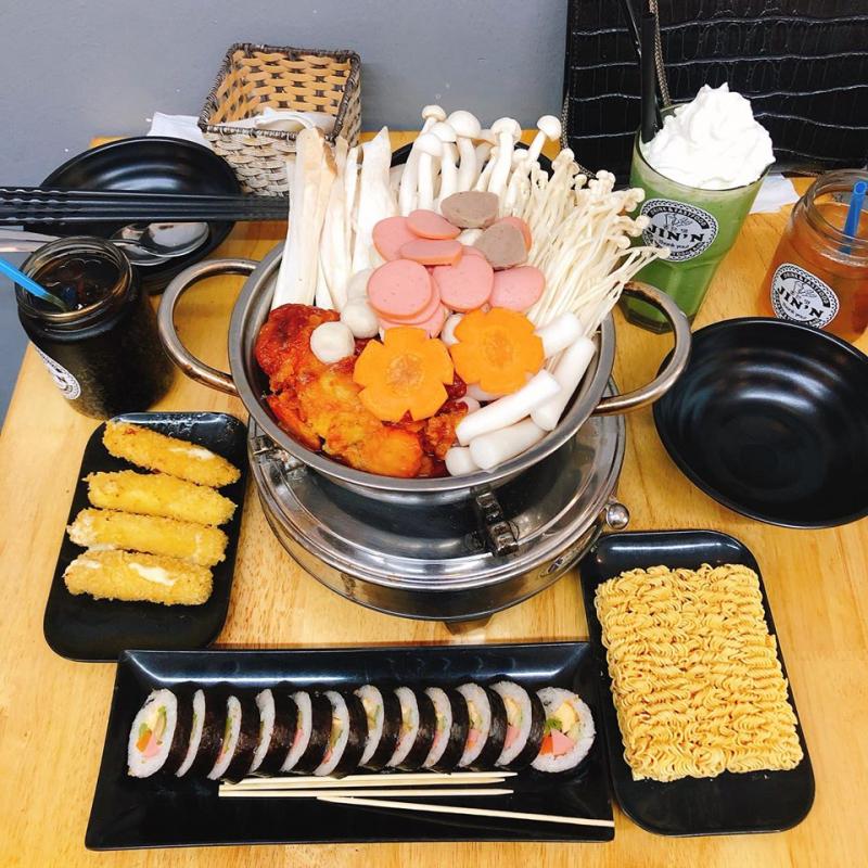 Các món ăn của quán Jin'n được trình bày rất đẹp mắt, hương vị hấp dẫn