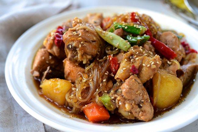 Jjimdak - Thịt gà om