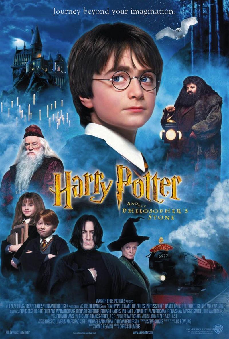 Harry Potter là tác phẩm đã làm nên tên tuổi của J.K. Rowling