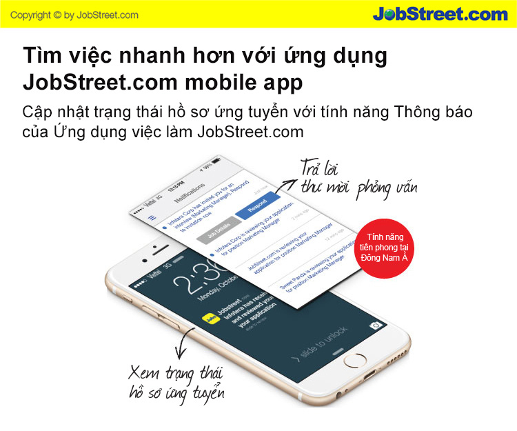 Ứng dụng Jobstreet VN