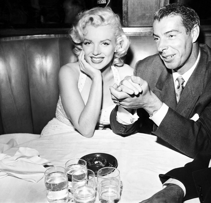 Joe Dimaggio và Marilyn Monroe