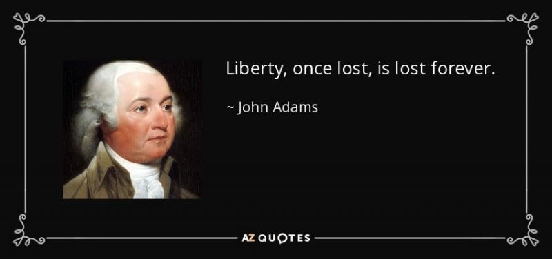 """""""Tự do một lần bị mất đi, sẽ mãi mãi không thể tìm lại"""""""