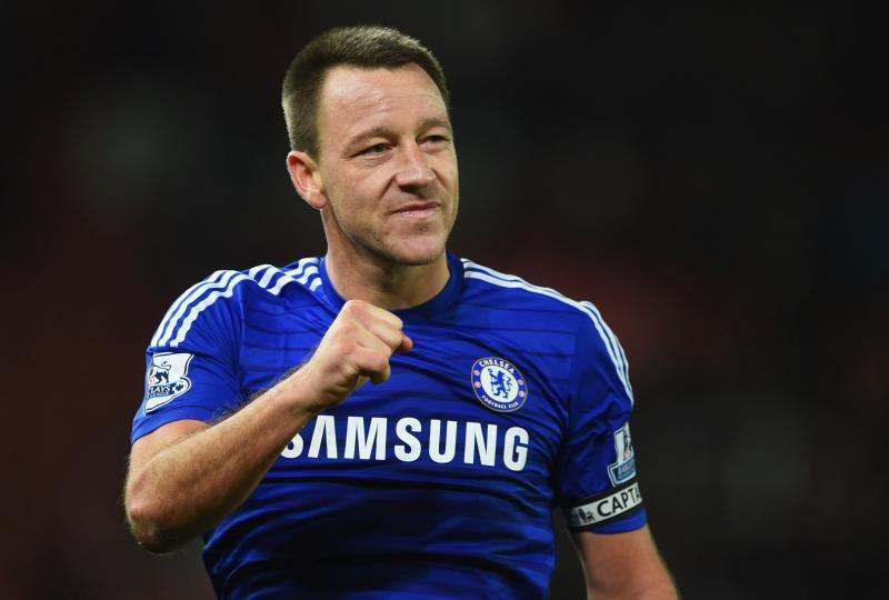 Terry là thủ quân của Chelsea