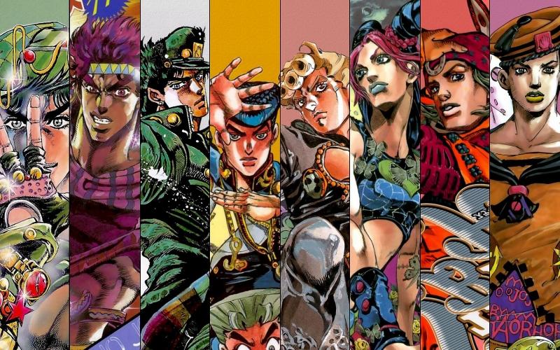 Các nhân vật trong JoJo's Bizarre Adventure.
