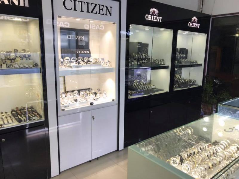 Một góc trưng bày đồng hồ Citizen tại JPWatch