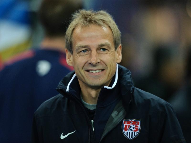 Jürgen Klinsmann đang là HLV của ĐTQG Mỹ