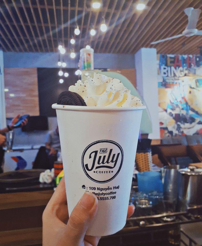 July Coffee là quán cà phê với thức uống ngon, chất lượng