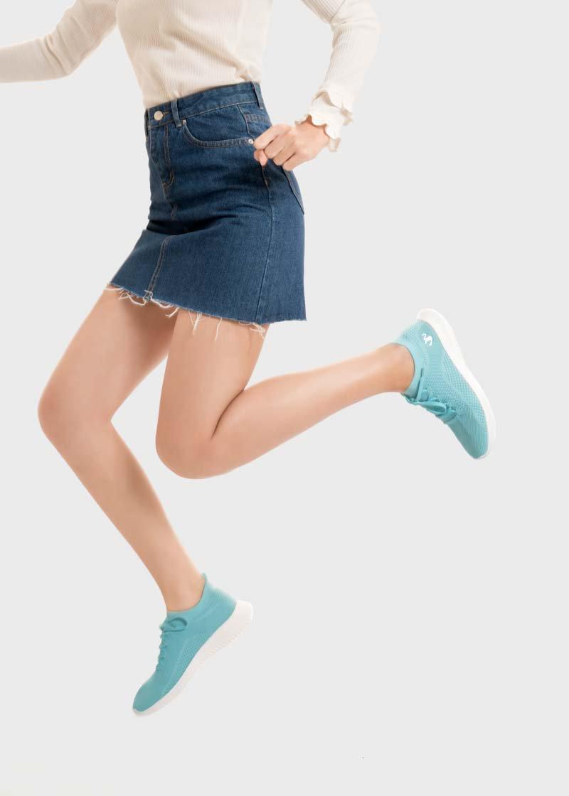 chọn giày cho nàng chân gầy