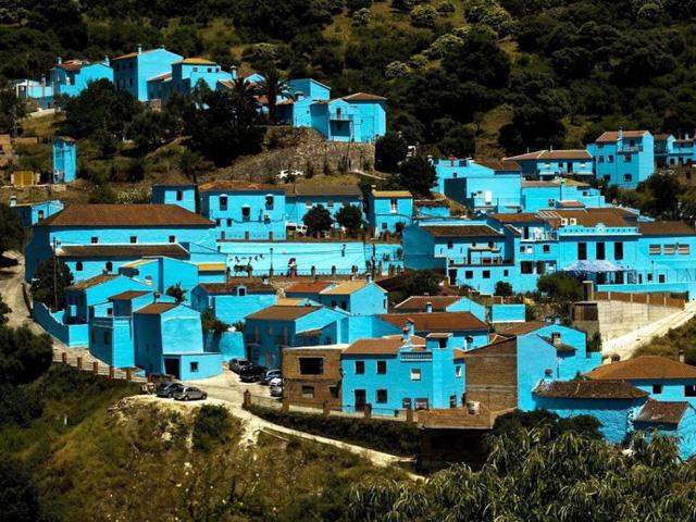 Thị trấn Juzcar, Tây Ban Nha