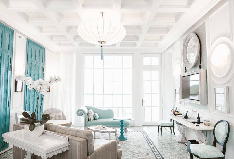 Căn phòng được thiết kế tinh tế, tỉ mỉ đến từng chi tiết