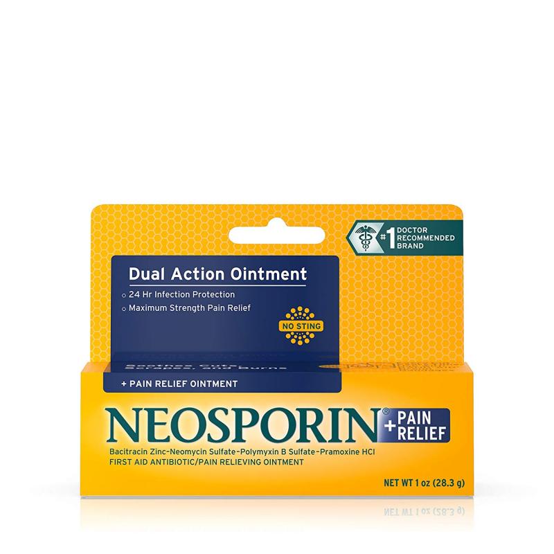 Kem mỡ điều trị vết thương Neosporin triple antibiotic ointment
