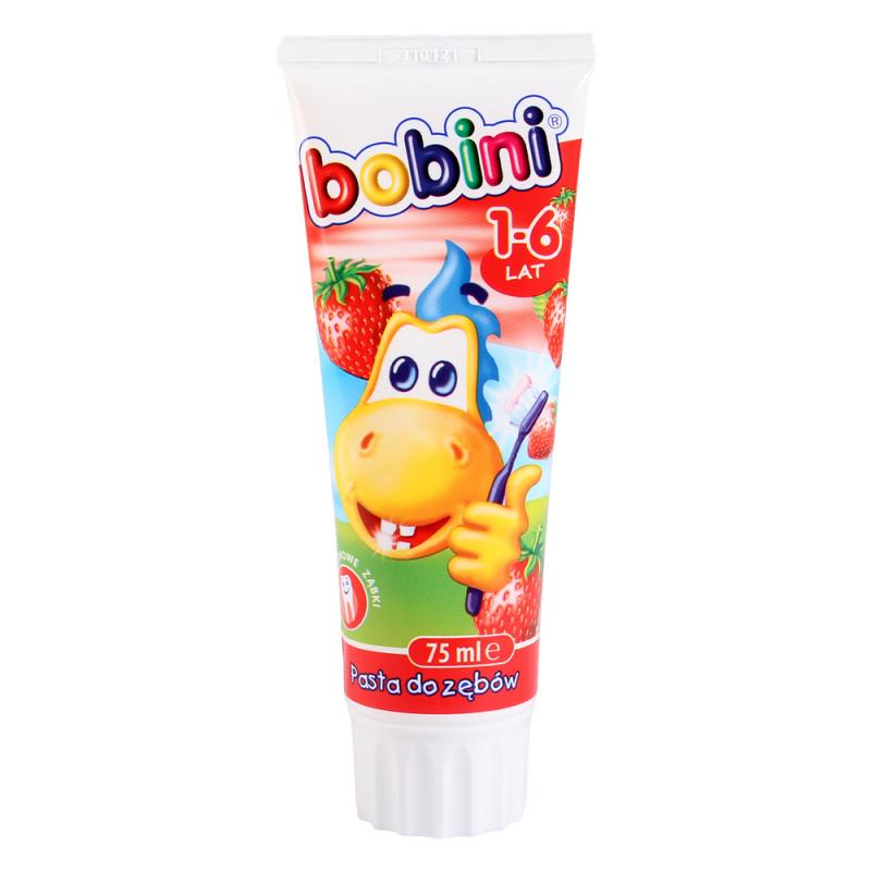 Kem đánh răng Bobini hương dâu