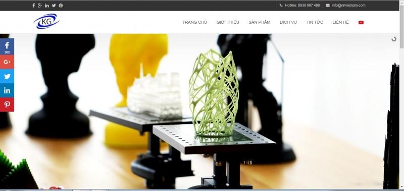 website của K-Tech GloBal