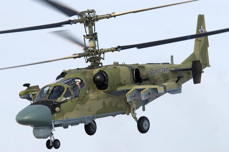 Trực thăng Ka-52 Alligator.