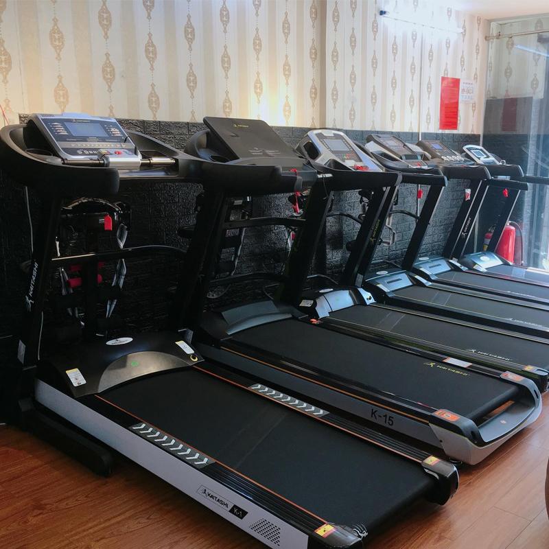 Kaitashi đầu tư trang bị tất cả các dòng máy tập đạt tiêu chuẩn chất lượng cao