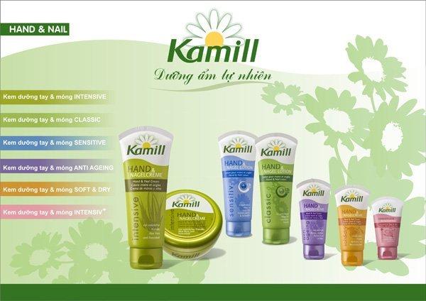Kem Kamill còn có hiệu quả trong việc dưỡng móng, nhất là những móng tay bị hư hại do sử dụng hóa chất và sơn móng thường xuyên.