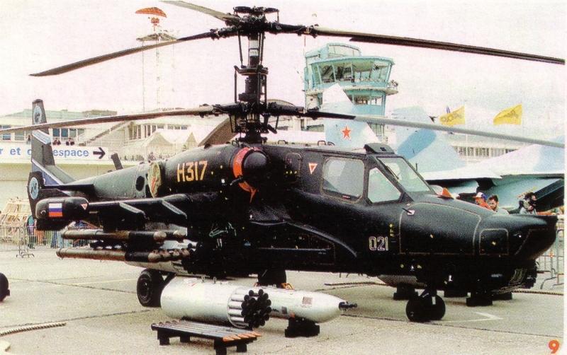 Kamov KA-50 là chiếc trực thăng hiện đại thứ hai thế giới.