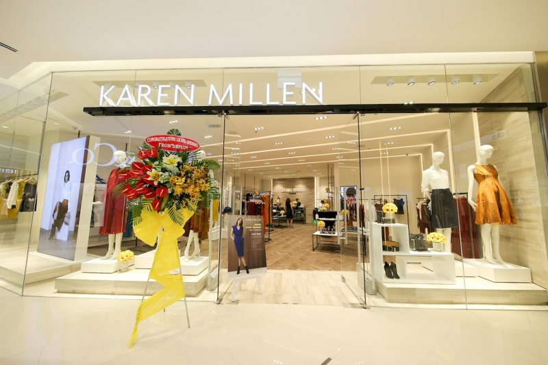 Cửa hàng Karen Millen mới khai trương tại TTTM Saigon Center