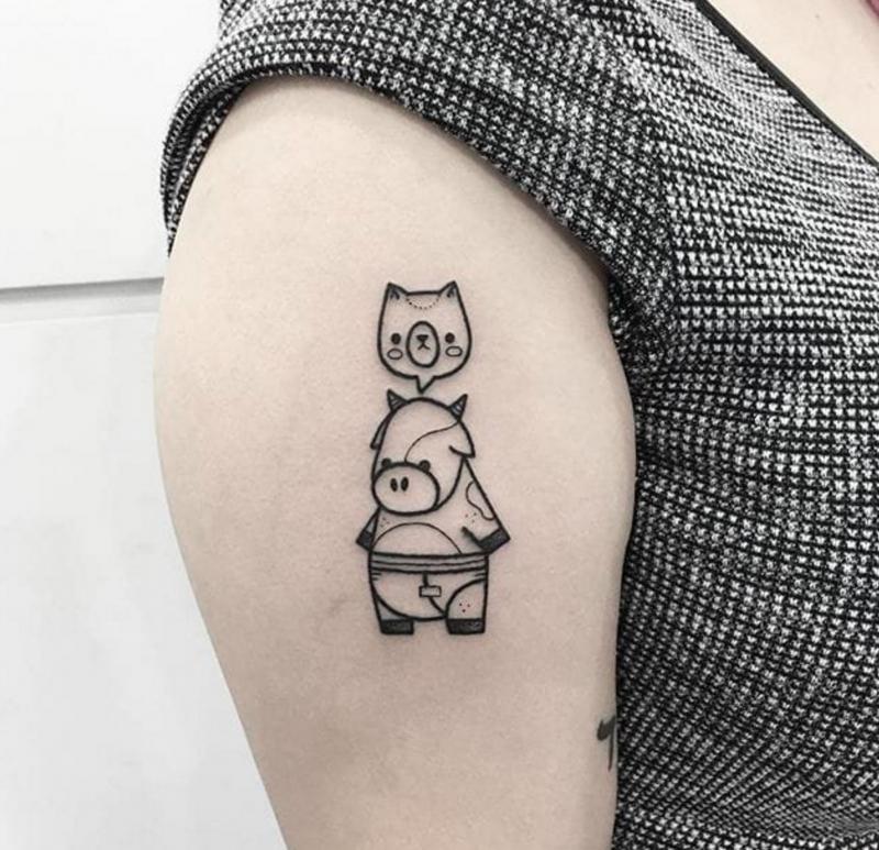 Kat Von D Lock-It Tattoo Concealer có thể che hình xăm rất tốt
