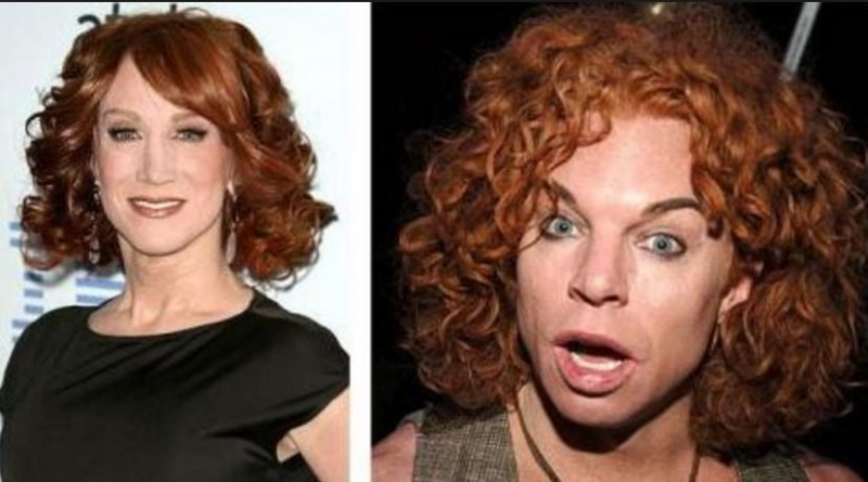 Kathy Griffin và Carrot Top