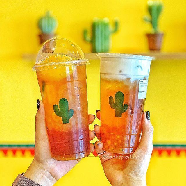 Quán thu hút khách hàng bởi những ly trà sữa thương hiệu