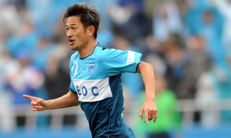 Kazuyoshi Miura, tiền đạo nhiều tuổi nhất vẫn đang thi đấu tại Nhật Bản