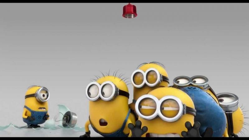 hình ảnh nhí nhố của các Minions