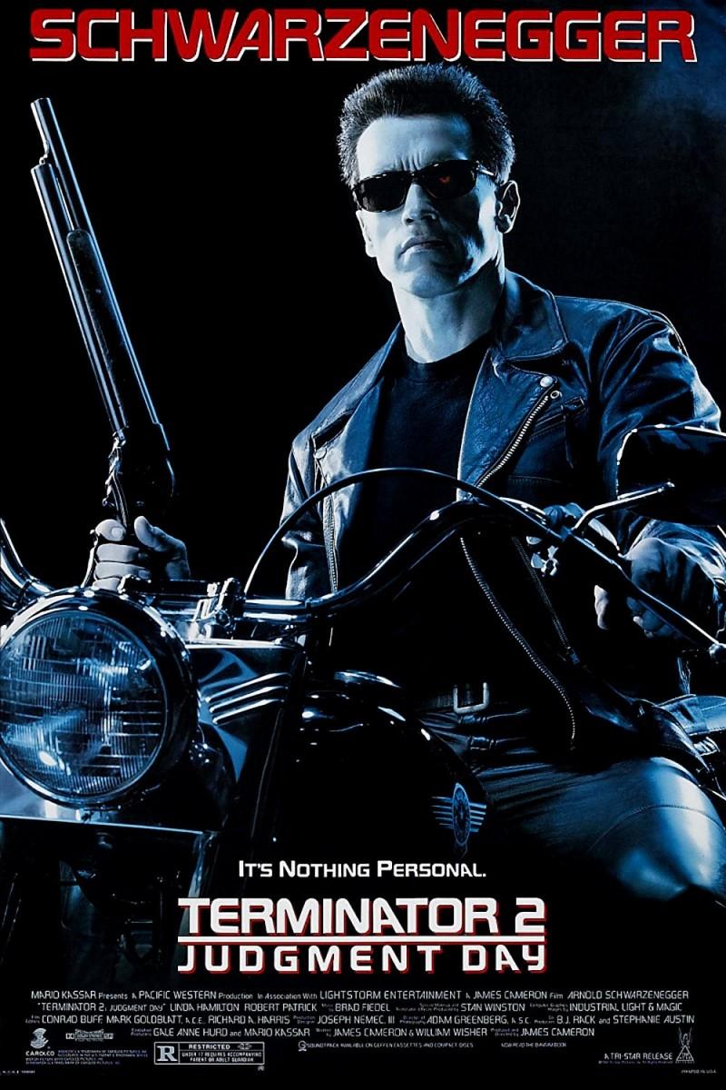 Poster phim Kẻ hủy diệt 2: Ngày phán xét