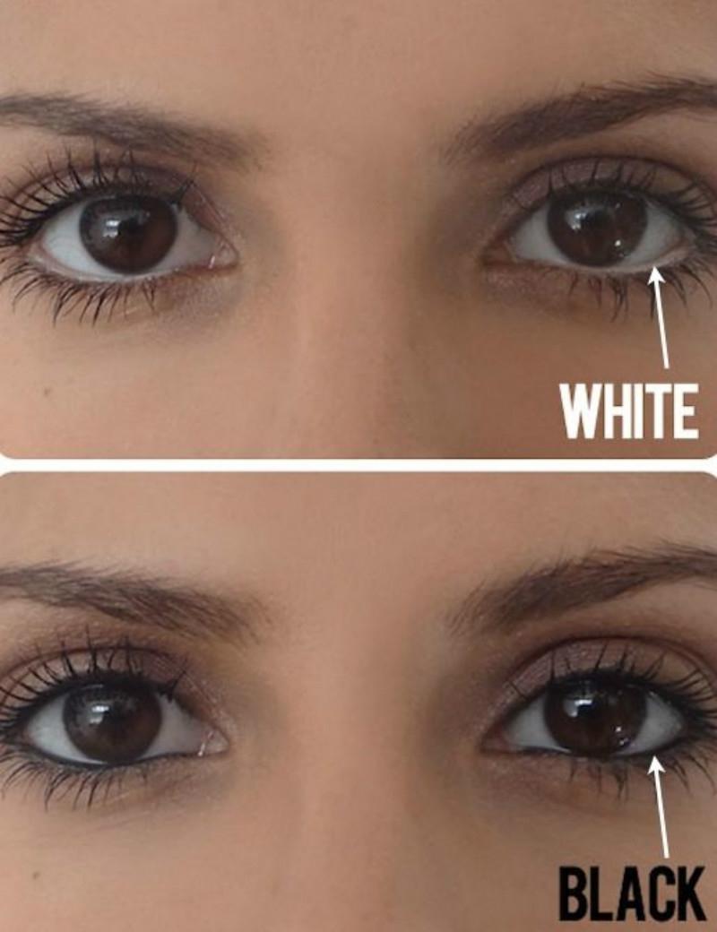 Kẻ mắt dưới giúp mắt to hơn