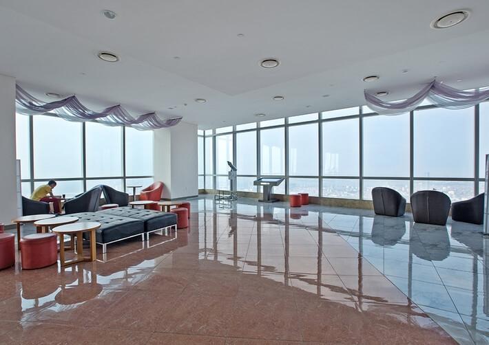 Không gian yên tĩnh thoáng đáng trên Keangnam tầng 72