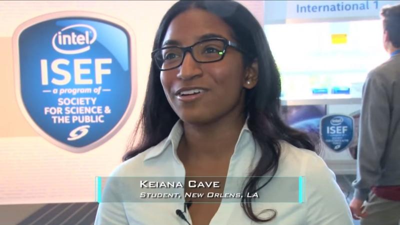 Keiana Cave trên sóng truyền hình - Nguồn: Sưu tầm