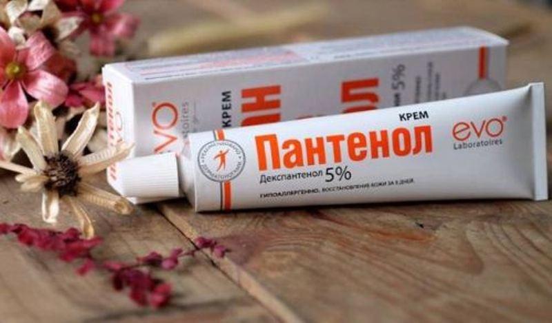 Kem trị bỏng Panthenol evo