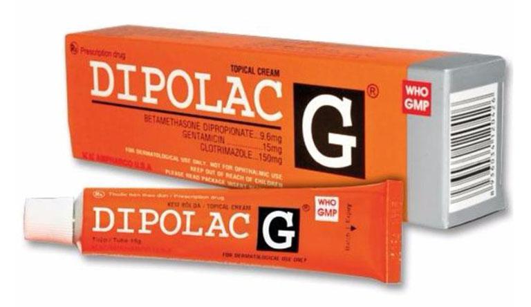 Kem bôi trị nấm da Dipolac G