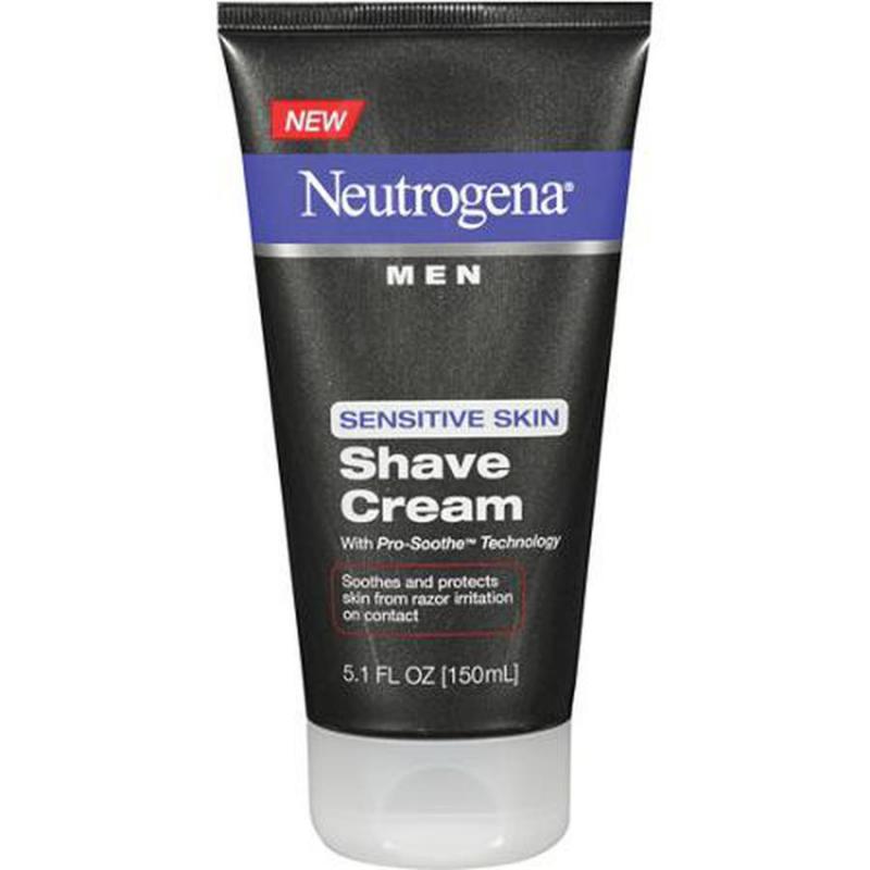 Kem Cạo Râu Neutrogena Men Sensitive Skin 150m