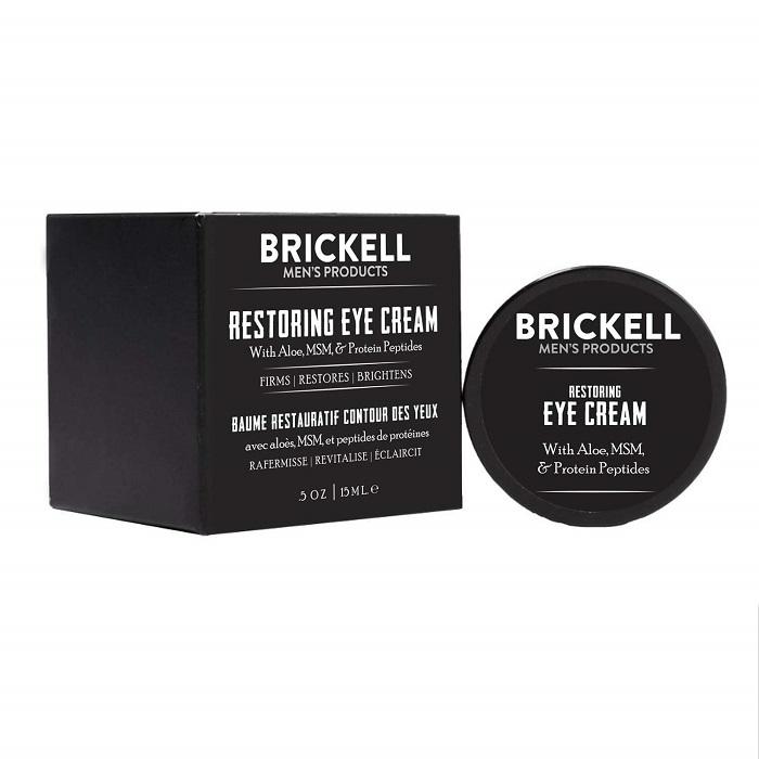 Kem chống lão hóa da Brickell Men's Restoring Eye Cream