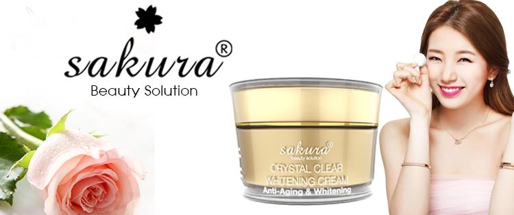 Kem chống lão hóa Sakura Anti – Aging Whitening Cream