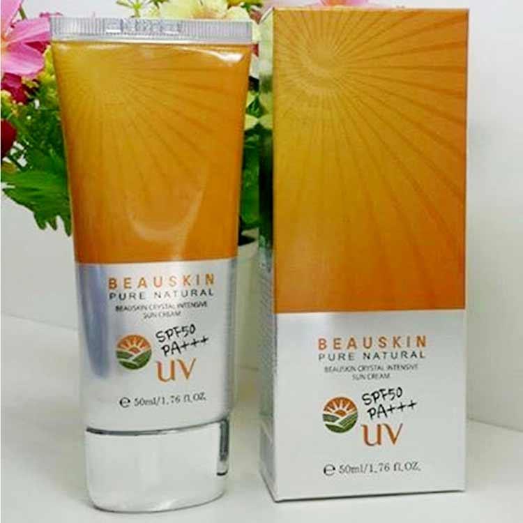 Kem chống nắng 3 trong 1 - Beauskin Crystal Intensive Sun Cream