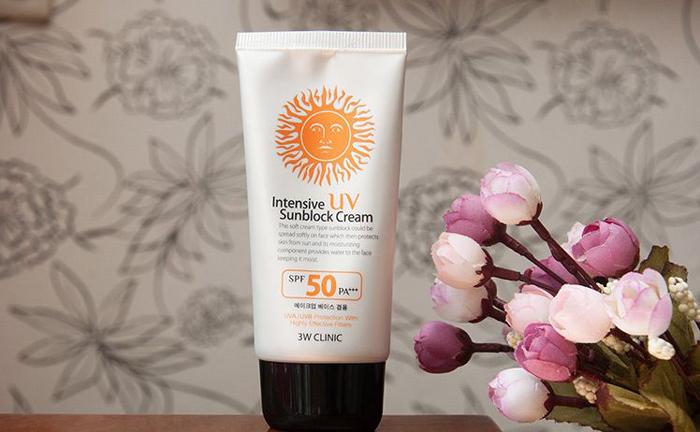 Kem chống nắng 3w Clinic Intensive UV SPF 50 Pa+++