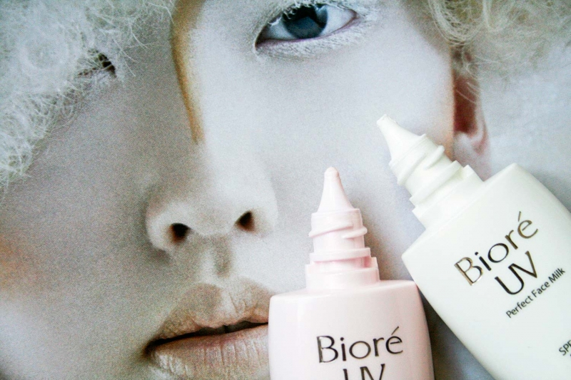Bioré Bright Face Milk SPF50+ PA+++