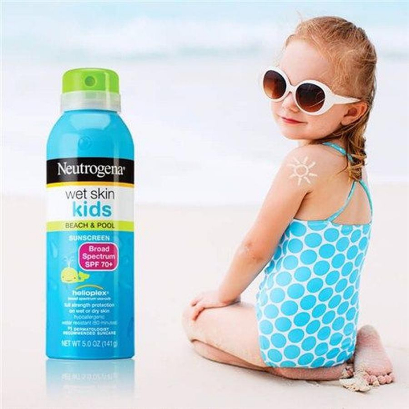 Kem chống nắng Neutrogena Wet Skin Kids