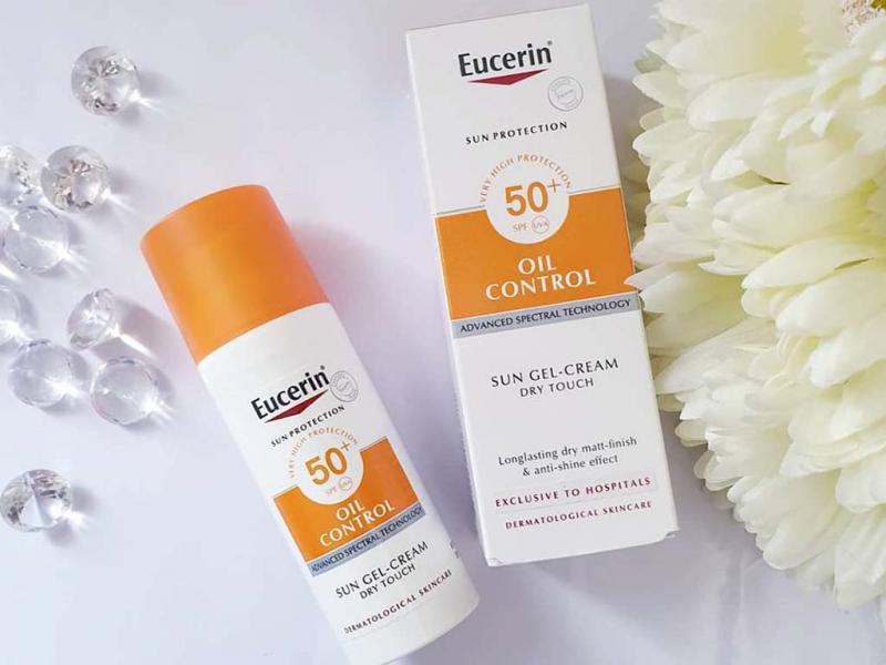 Eucerin Sun Gel Cream Oil Control Dry Touch SPF50+