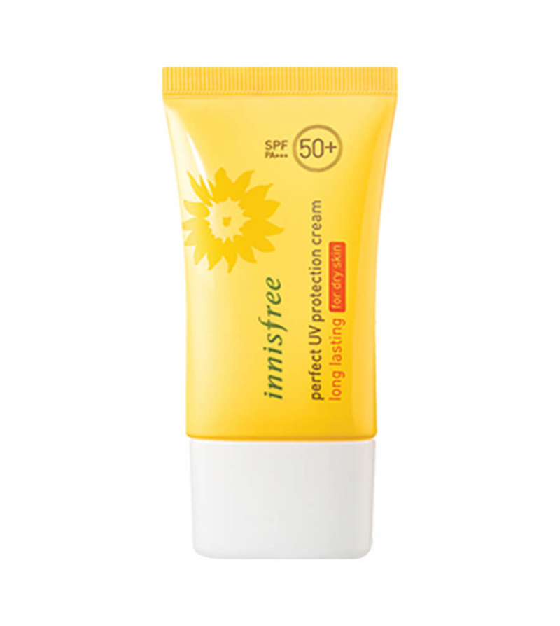 Một số review về kem chống nắng Innisfree perfect UV protection spray cooling SPF50+/PA+++