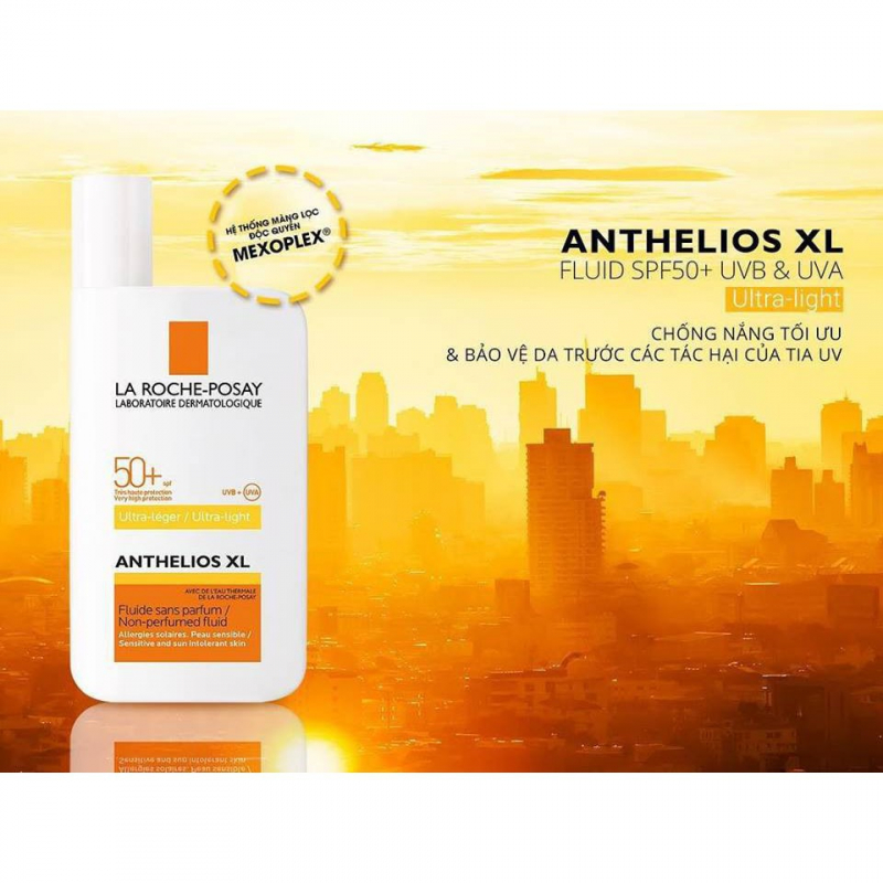 Kem chống nắng La Roche-Posay Anthelios XL Fluide SPF 50+