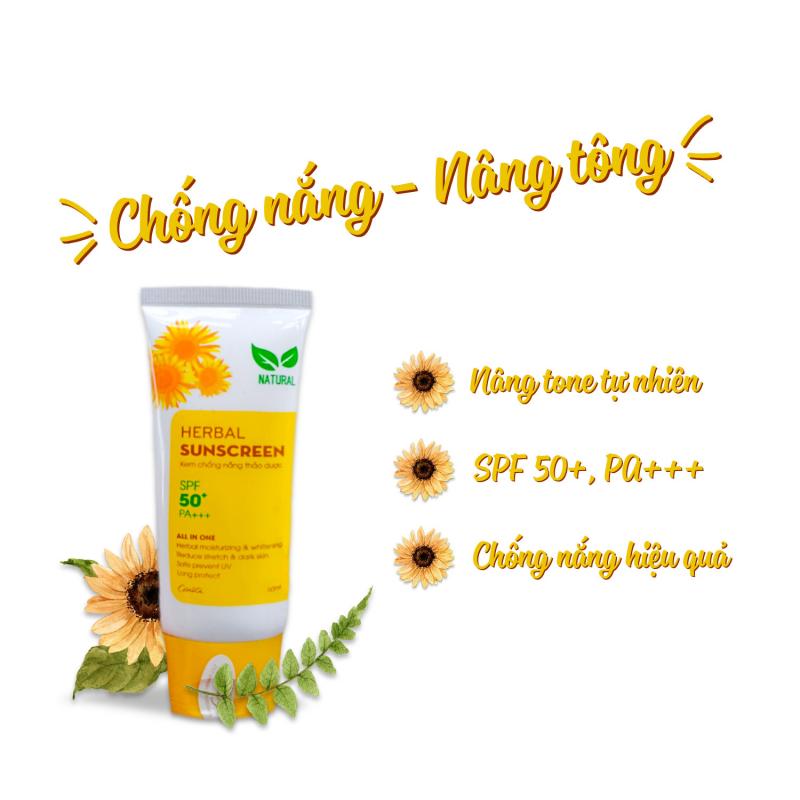 Kem chống nắng thảo dược Cénota Herbal Sunscreen SPF50+/PA+++