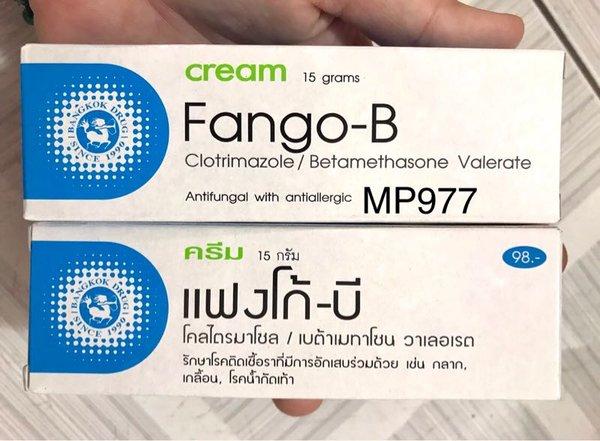 Kem đặc trị các loại nấm da và lang ben Fango-B Cream