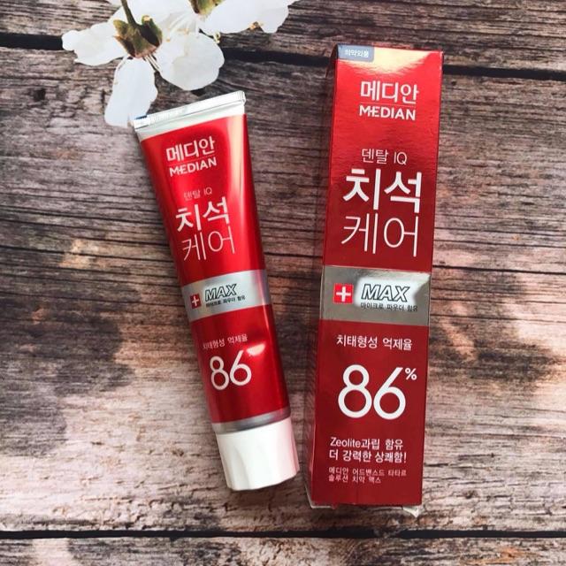 Kem đánh ngừa sâu răng Median Dental IQ Advanced Tartar Toothpaste Hàn Quốc 120g