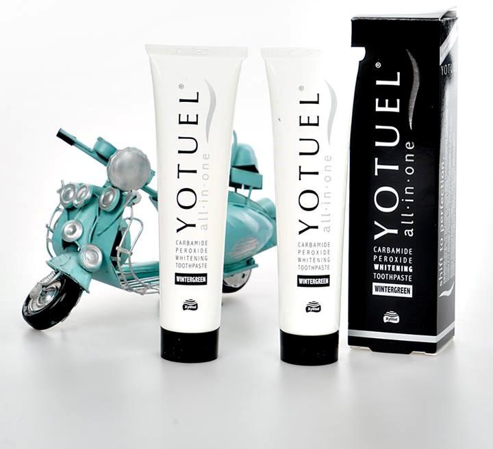 Kem đánh răng Yotuel làm sáng răng 75ml All In One Intensive Whitening Toothpaste