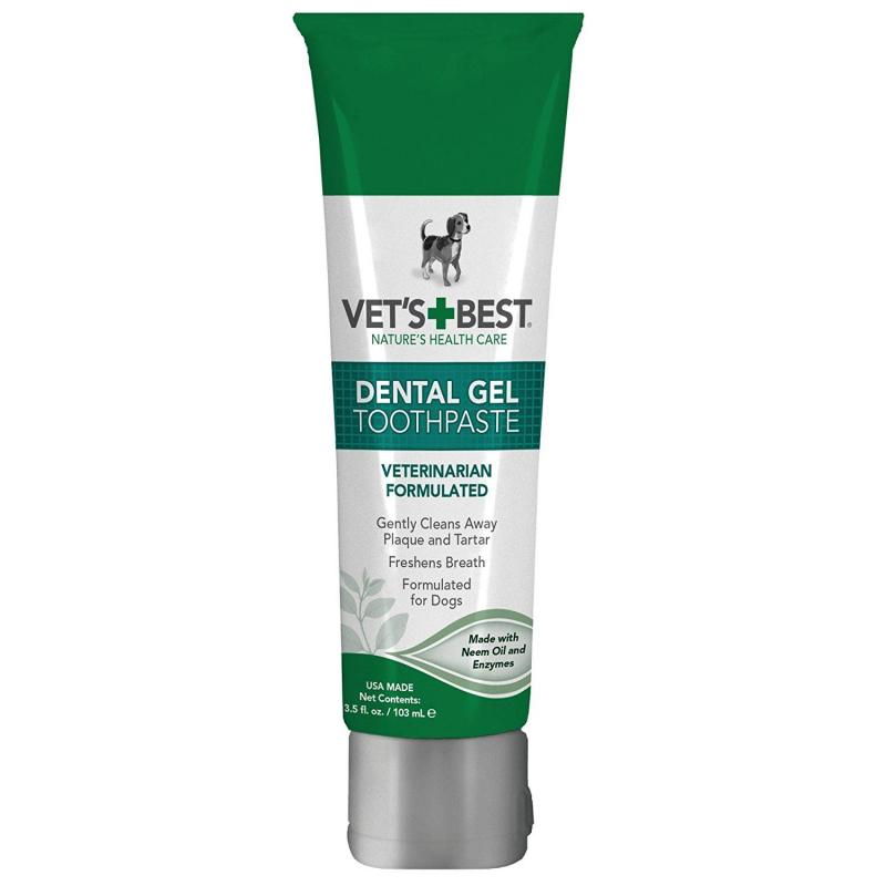 Kem đánh răng Vet's Best Dental Gel Toothpaste for Dogs