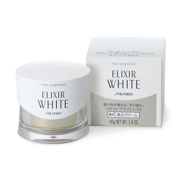 Kem dưỡng đêm Shiseido dòng Elixir White Reset Brightenist