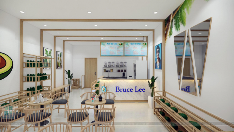 Kem Bơ Dừa Bruce Lee